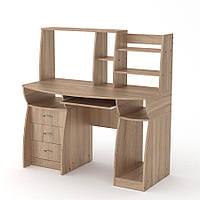 """Удобный компьютерный стол """"Комфорт-3"""" производства мебельной фабрики Компанит"""