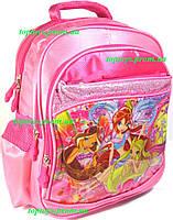 Рюкзак ранец для девочки школьный Феи (Fairies) Winx Винкс. Начальная школа