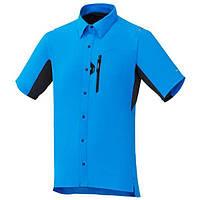 Веломайка Shimano ButtonUp, синяя, размер L