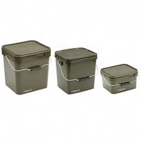 Ведро Trakker Olive Square Container 17l
