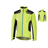 Велокуртка Shimano Explorer Stretch Lite Rain Jacket (Polyamide 100%) желтый-неон, размер L