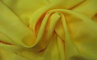 Габардин желтый ткань