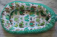 Кокон-гнездышко для новорожденных от 0-6мес(расцветка на выбор)