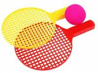 Теннис мини (2 рак.+мяч порол.) в сетке Максимус /20/(5212)