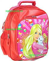 Рюкзак ранец для Девочки школьный Девушка с котом. Начальная школа