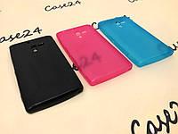 Чехол накладка бампер для Sony Xperia ZL C6503 (3 цвета)