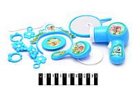 """Набор для девочек """"Frozen""""(зеркало, фен, бижутерия) 28*21,5*5,5 см.. /192/(BL8804FA)"""