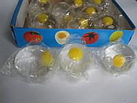 Лизун антистрес Яйце з жовтком, фото 1