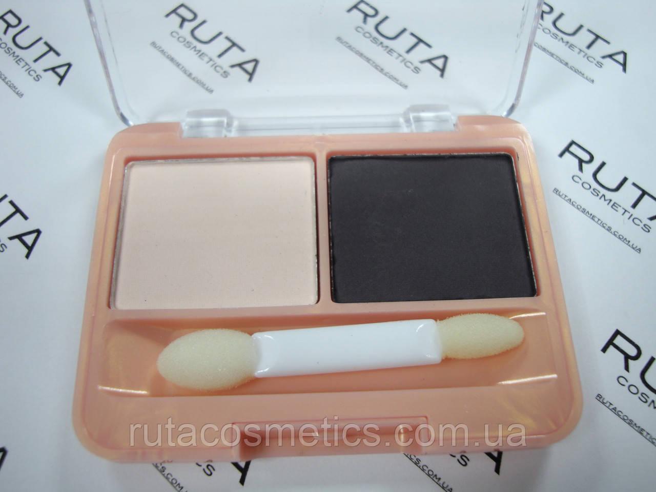 Parisa Cosmetics тени матовые двойные (02)