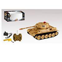 Интерактивная игрушка танк на радиоуправлении 33804