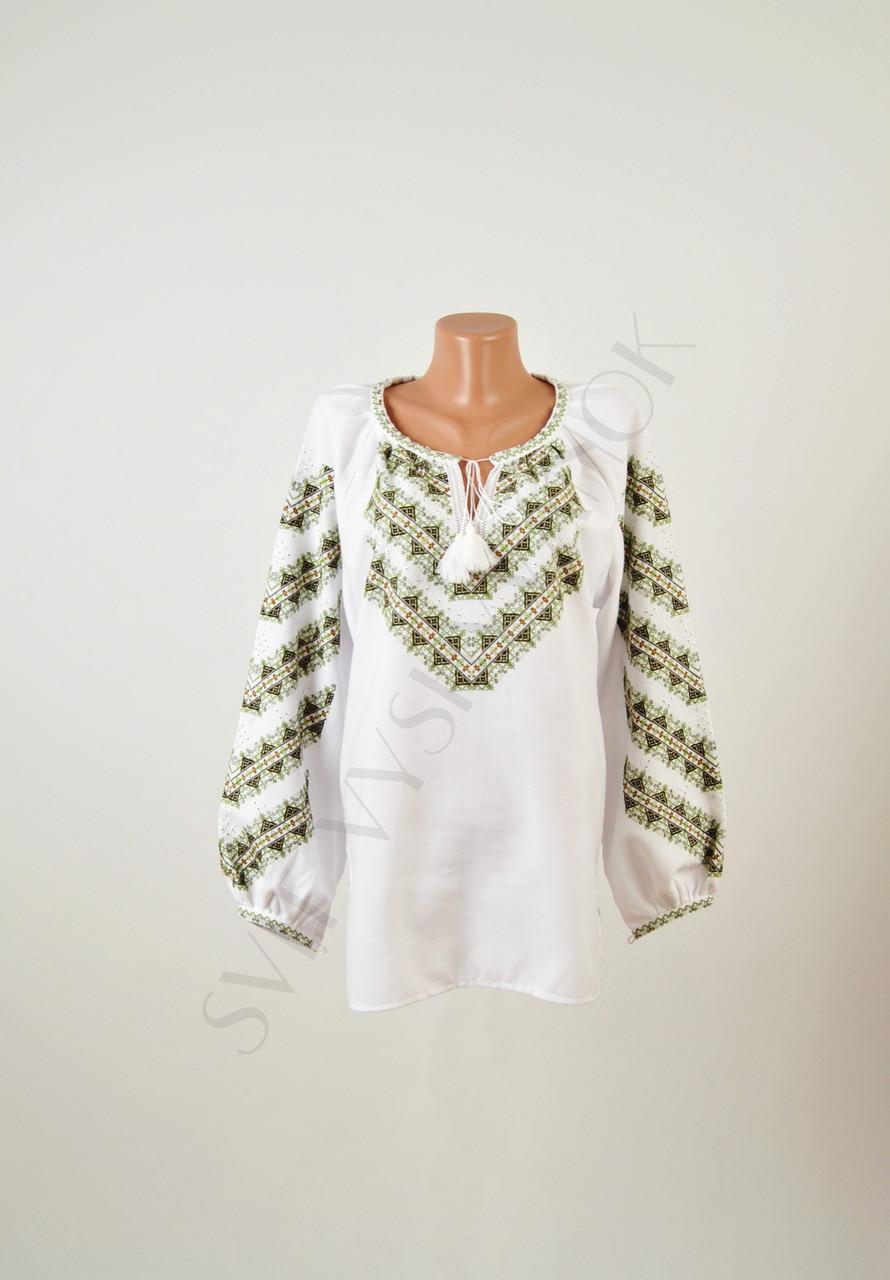 Жіноча вишиванка ручної роботи на домотканому полотні - Інтернет-магазин  вишиванок для всієї сім  f1d538a2ae54e