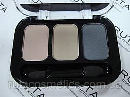 Parisa Cosmetics Eye Shadow Trio тройные тени для век (26) матовые