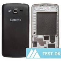 Корпус Samsung G7102 Galaxy Grand 2 Duos | черный