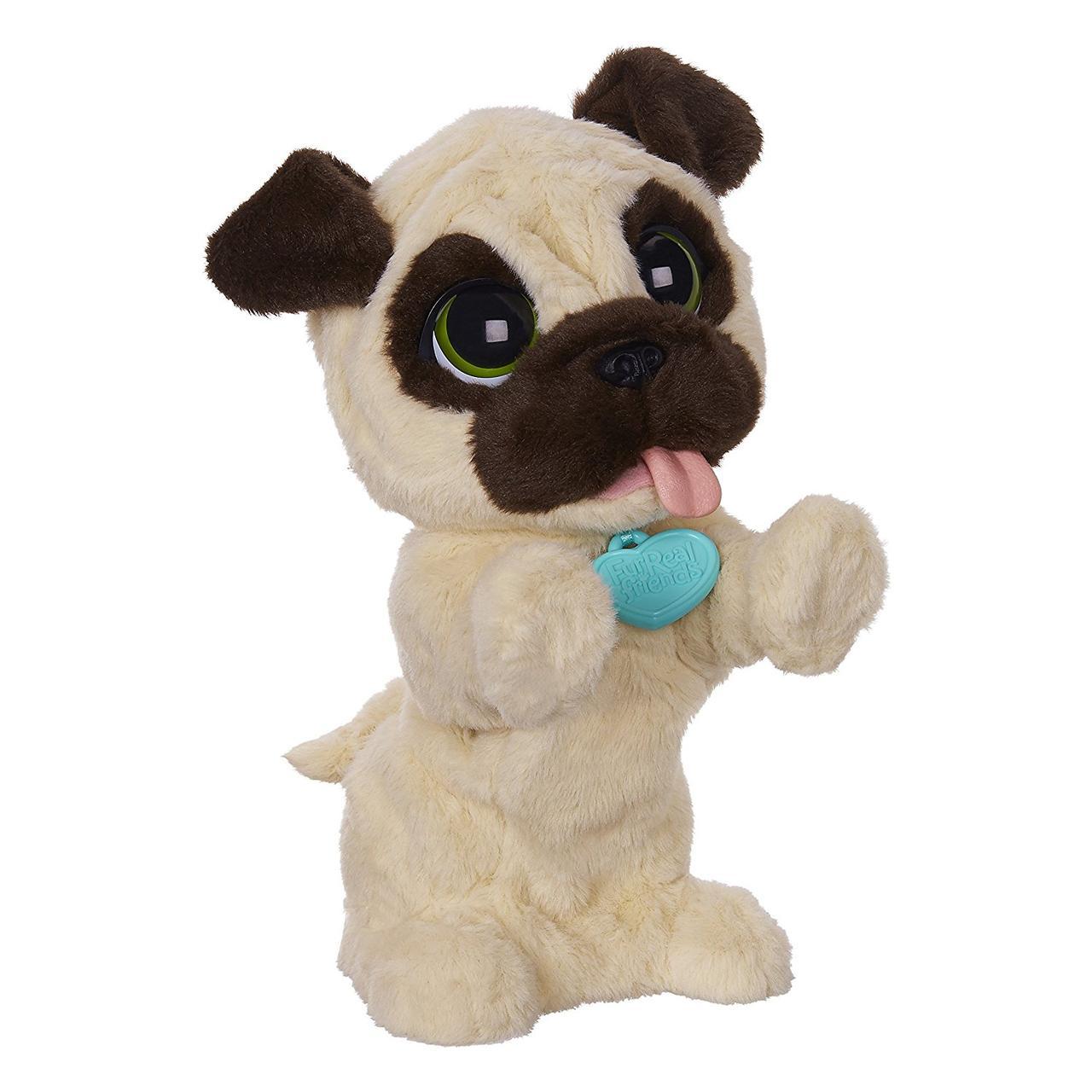 Интерактивный игривый щенок Мопс Джей Джей Furreal Friends от Hasbro