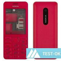 Корпус Nokia 206 Asha | красный