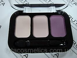 Parisa Cosmetics Eye Shadow Trio тройные тени для век (18) матовые