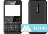 Корпус Nokia 210 Asha | черный