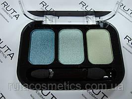 Parisa Cosmetics Eye Shadow Trio тройные тени для век (12) перламутровые