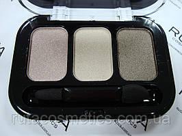 Parisa Cosmetics Eye Shadow Trio тройные тени для век (14) перламутровые