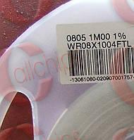 Резистор постоянный WR08X1004FTL WALSIN 0805 Сопротивление 1 MOhms Мощьность 125mW Допуск 1 %