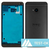 Корпус HTC One 801e | черный