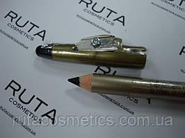 Eveline Cosmetics Eyeliner Pencil карандаш для век с точилкой (черный)