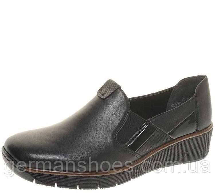 fc26fe6a8 Туфли женские Rieker 53754-00 - Интернет-магазин обуви