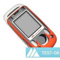 Корпус Sony Ericsson W550 | оранжевый