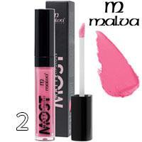 Malva Блеск для губ PM-2001 Most Matte Тон 02 pink rose матовый