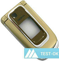 Корпус Nokia 6131   золотой