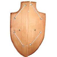 Деревянный рыцарский щит 45см( Ч )