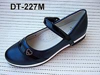 Черные туфли для девочки в школу