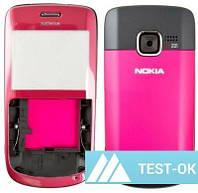 Корпус Nokia C3-00   розовый