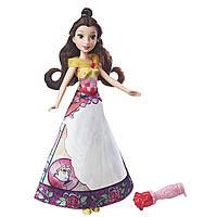 Кукла Белль с волшебной юбкой. Disney Princess Belle's Magical Story Skirt