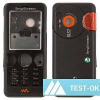 Корпус Sony Ericsson W610 | черный