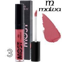 Malva Блеск для губ PM-2001 Most Matte Тон 03 red plum матовый