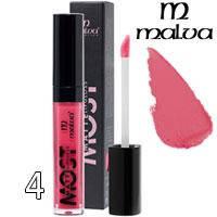 Malva Блеск для губ PM-2001 Most Matte Тон 04 pink red матовый, фото 2