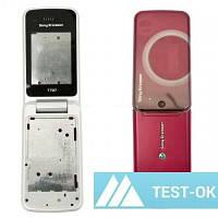 Корпус Sony Ericsson T707   розовый