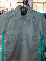 Рубашка детская школа серая2