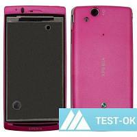 Корпус Sony Ericsson X12   розовый