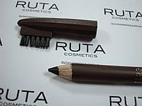 Malva - Карандаш для бровей с щеточкой 04 темно-коричневый