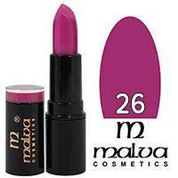 Malva Губная помада Care&Shine M-483 Тон 26 pink lilac матовая