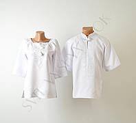 Вишита блузка з квітами (вишиванка) 50f9582189d83
