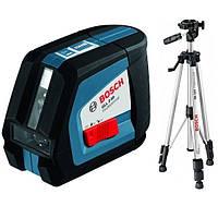 Лазерный нивелир Bosch GLL 2-50 + BS 150 + вкладка под L-Boxx (0601063105)