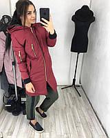 Женская демисезонная куртка с молниями, в расцветках