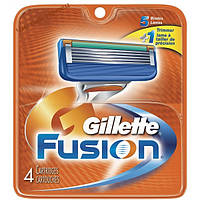 Gillette Fusion , кассеты для бритья (4шт.)