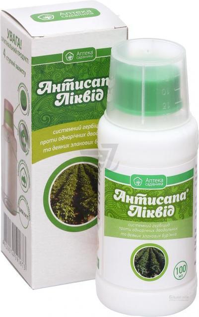 Антисапа ліквід 100 мл 18072 Аптека Садівника