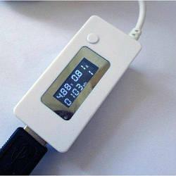 Вольтметр/амперметр тестер зарядних пристроїв. USB Доктор