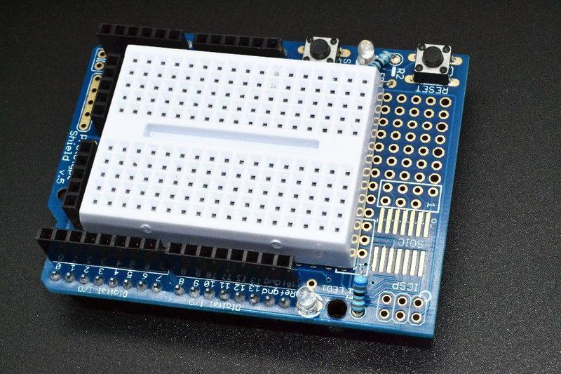 Макетная прототип плата 170 пин контактов Arduino