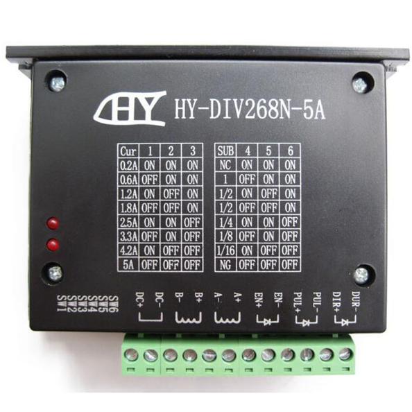 Контроллер/драйвер шагового двигателя ЧПУ TB6600. 0.2 - 5 A